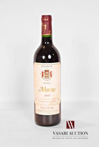 1 bouteilleMADIRAN mise Château Montus