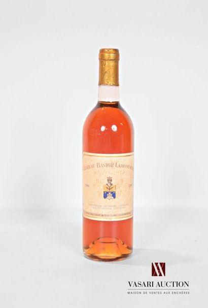 1 bouteilleCH. BASTOR LAMONTAGNESauternes...