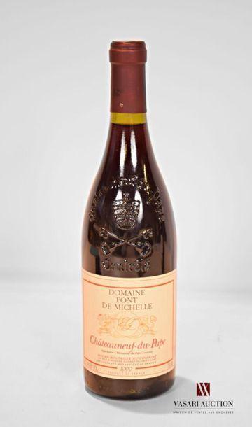 1 bouteilleCHATEAUNEUF DU PAPE mise Dom....