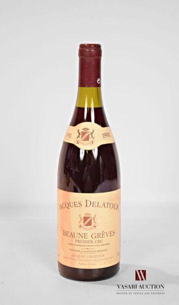 1 bouteilleBEAUNE GRÈVES 1er Cru mise J....