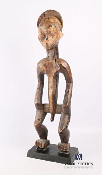 PUNU - GABON Fétiche d'homme bois sculpté...