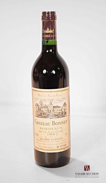 1 bouteilleCH. BONNETBordeaux1994 Et....