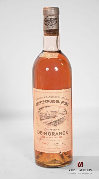 1 bouteilleDOMAINE DE MORANGESte Croix...