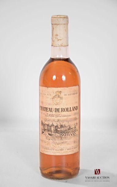 1 bouteilleCH. DE ROLLANDBarsac1971 Et....