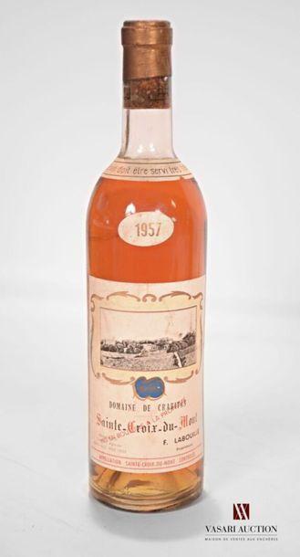1 bouteilleDOMAINE DE CRABITANSte Croix...