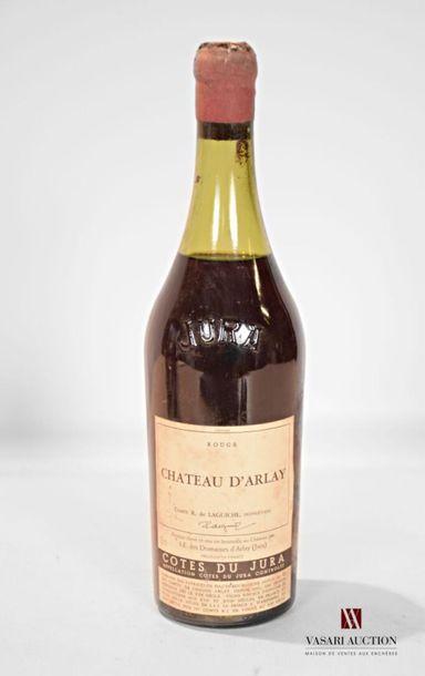 1 bouteilleCÔTES DU JURA rouge mise Château...