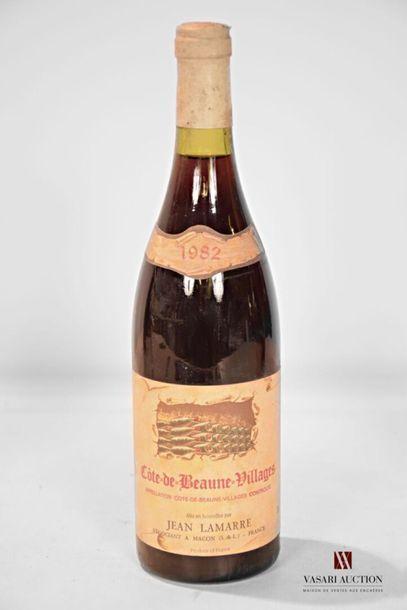 1 bouteilleCÔTE DE BEAUNE VILLAGES mise...