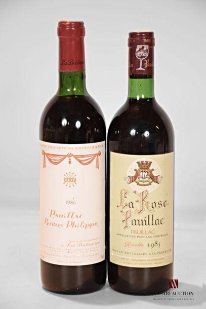 Lot de 2 blles comprenant : 1 bouteilleLA...
