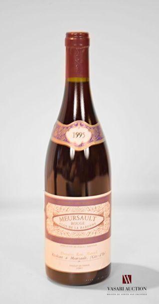 1 bouteilleMEURSAULT rouge Clos de Baronne...