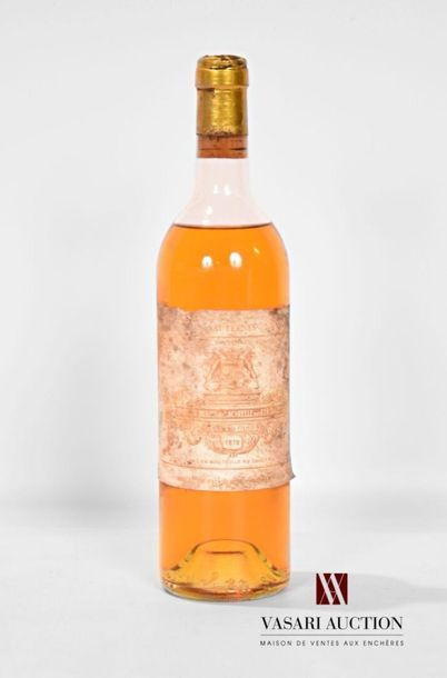 1 bouteilleCH. FILHOTSauternes 1er GCC1978...