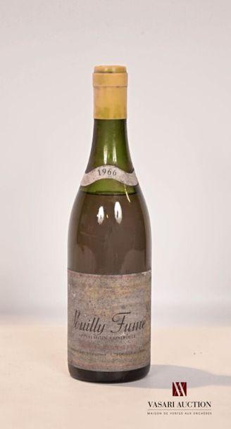 1 bouteillePOUILLY FUMÉ mise Georges Julidert...