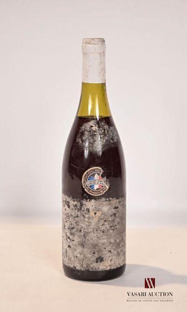 1 bouteilleMORGON mise G. Duboeuf1989...