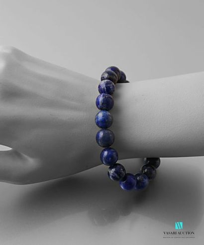 Bracelet sur cordon extensible en perles...
