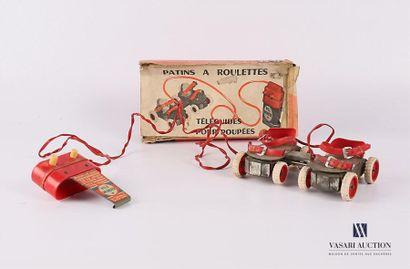 Patins à roulettes téléguidés pour poupées...