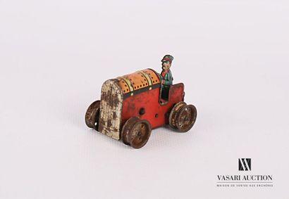 GAMA (ALLEMAGNE) Tracteur agricole avec chauffeur...