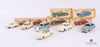 NOREV Lot de six véhicules - échelle 1/43...