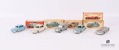 NOREV Lot de cinq véhicules - échelle 1/43...