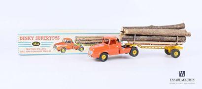 DINKY SUPERTOYS Tracteur Willème avec semi-remorque...