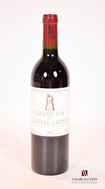 1 bouteilleChâteau LATOURPauillac 1er GCC1985...