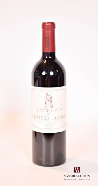 1 bouteilleChâteau LATOURPauillac 1er GCC1999...