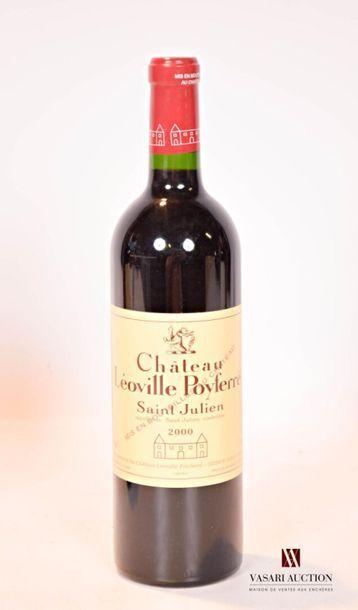 1 bouteilleChâteau LÉOVILLE POYFERRÉSt...
