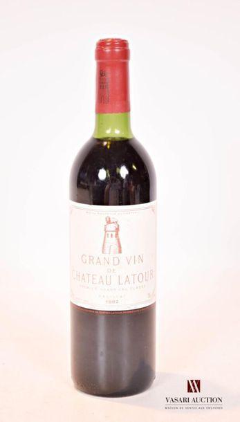 1 bouteilleChâteau LATOURPauillac 1er GCC1982...