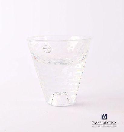 SALVIATI Bougeoir modèle Raindrops en verre...
