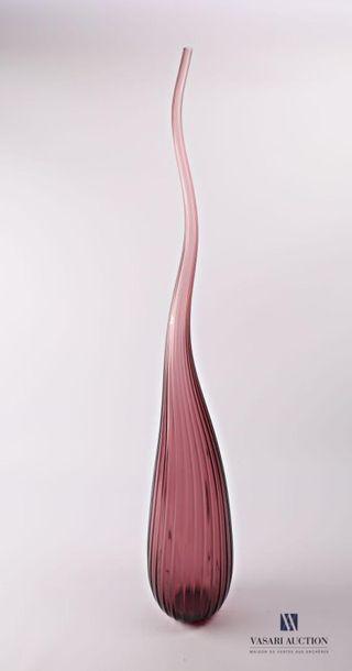 SALVIATI Vase soliflore modèle Aria en verre...