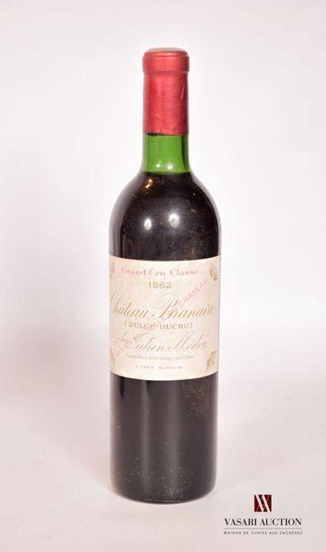 1 bouteilleChâteau BRANAIRE DUCRUSt Julien...