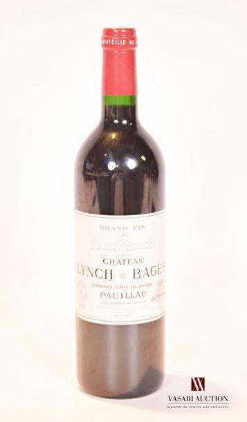 1 bouteilleChâteau LYNCH BAGESPauillac...