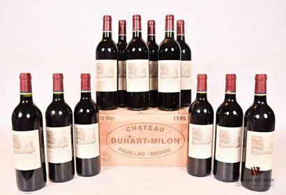 12 bouteillesChâteau DUHART MILONPauillac...