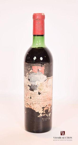1 bouteilleChâteau MOUTON ROTHSCHILDPauillac...