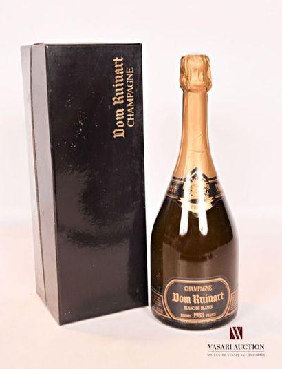 1 bouteilleChampagne DOM RUINART Brut Blanc...