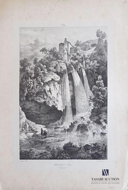 [AVEYRON] Leblanc (XIXe s.) (dessinateur)...