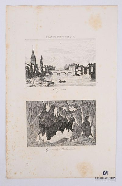 [ARIEGE] Jean Desaulx (XVII-XIXe s.) (graveur)...