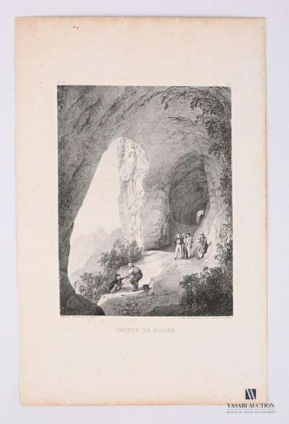 [ISERE] Louis Jules Frédéric Villeneuve (1796-1842)...