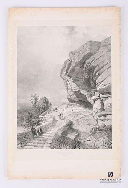 [LOIRE] Léon Jean-Baptiste Sabatier (XIXe-1887)...