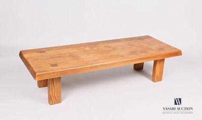 Pierre CHAPO (1927-1986) Table basse modèle...