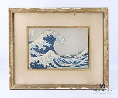 HOKUSAI Katsushika (1760-1849) d'après Kanagawa...