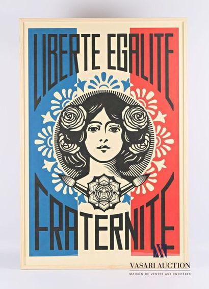FAIREY Shepard (né en 1970) Liberté, égalité,...