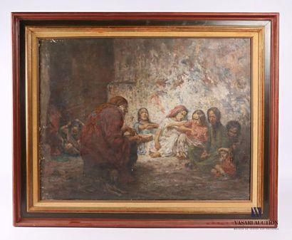 LAREE Marc-Gustave (1867-1940) Les bohémiens...