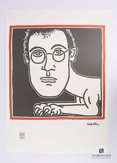 HARING Keith (1958-1990), d'après Self-Portrait...
