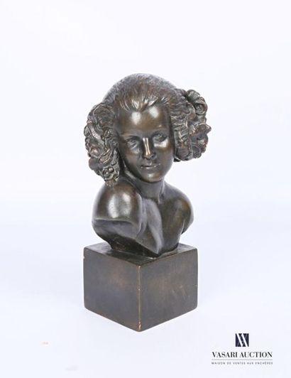 REAL DEL SARTE Maxime (1888-1954) Buste de...