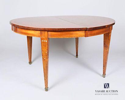 Table en bois naturel, bois de placage, le...
