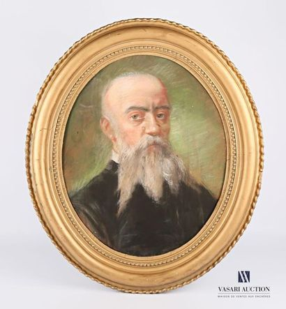 DEVERIA Eugène (1805-1865), attribué à Autoportrait...
