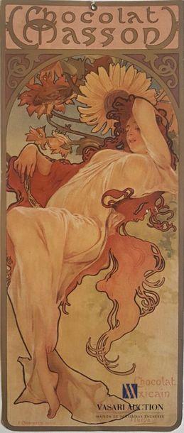 MUCHA Alphonse (1860-1939) Chocolat Masson....