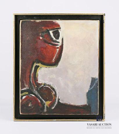 GUANSE Antonio (1926-2008) Omega 138 Huile...