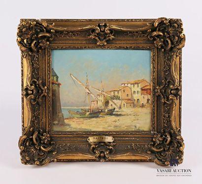 MALFROY (XIX- XXèmes siècles) Port de Martigues...