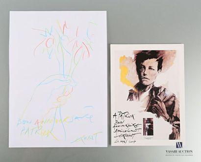 PIGNON-ERNEST Ernest (1942) Dessin au crayons...