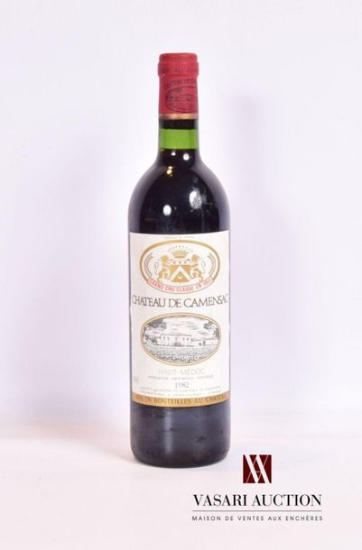 1 bouteilleChâteau DE CAMENSACHaut Médoc...